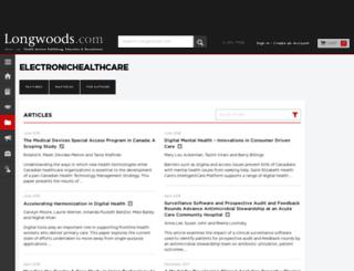 electronichealthcare.net screenshot