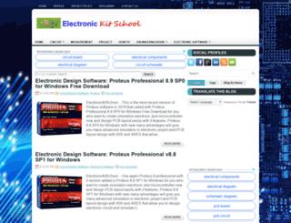 electronickitschool.com screenshot