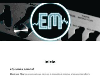 electronicmind.com.mx screenshot