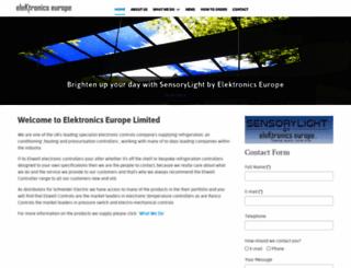 electronics-europe.co.uk screenshot