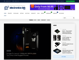 electronics-lab.com screenshot