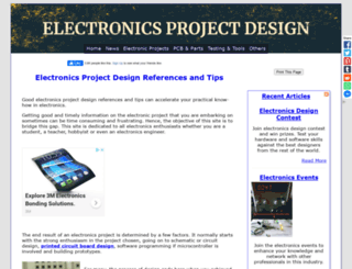 electronics-project-design.com screenshot