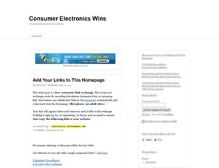 electronics.costfreehost.com screenshot