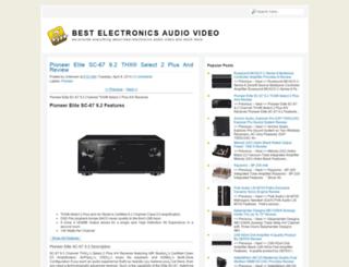 electronicsaudiovideo.blogspot.com screenshot