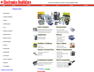 electronicshealthcare.com screenshot
