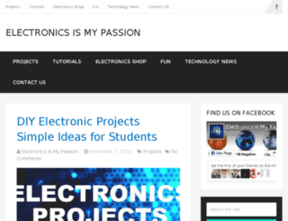electronicsismypassion.com screenshot