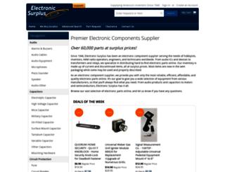 electronicsurplus.com screenshot