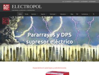 electropolcolombia.com screenshot