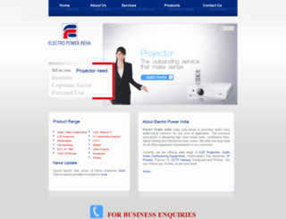electropowerindia.com screenshot