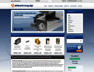 electroquip.co.uk screenshot
