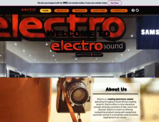 electrosa.com screenshot