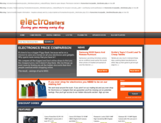 electrosellers.com screenshot