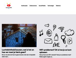 electroweb.nl screenshot