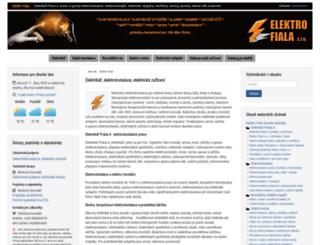elefi.cz screenshot