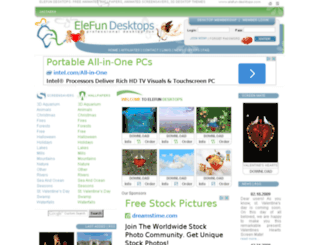 elefun-desktops.com screenshot