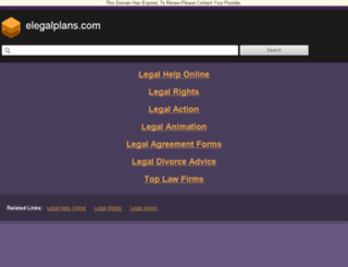 elegalplans.com screenshot