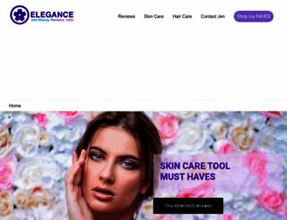 eleganceandbeautyreviews.com screenshot
