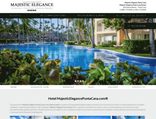 eleganceclubpuntacana.com screenshot