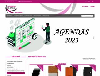 eleganciadobrinde.pt screenshot