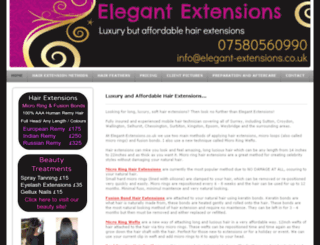 elegant-extensions.co.uk screenshot