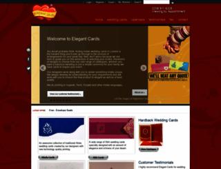 elegantcards.co.uk screenshot