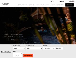 eleganthotels.com screenshot