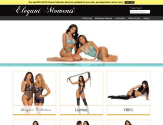 elegantmoments.com screenshot