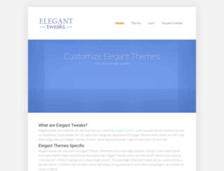eleganttweaks.com screenshot
