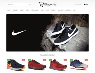 elegenza.com screenshot