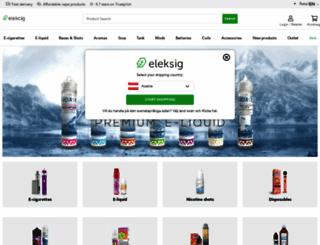elekcig.com screenshot