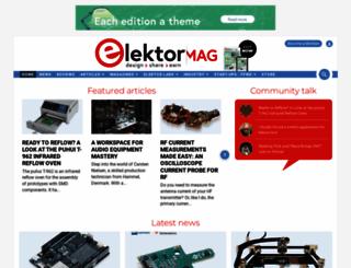 elektormagazine.com screenshot