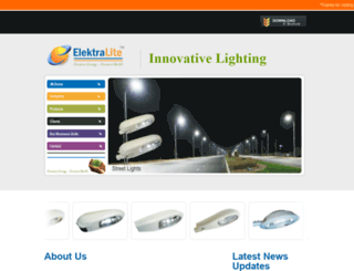 elektra-lite.com screenshot