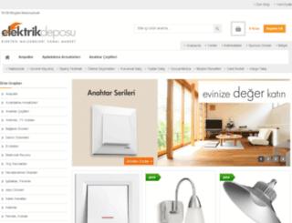 elektrikdeposu.com screenshot