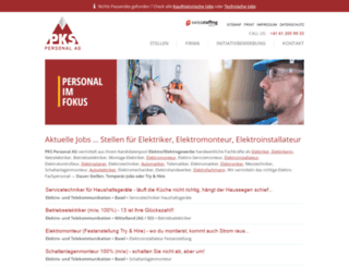 elektriker-elektromonteur-jobs.ch screenshot