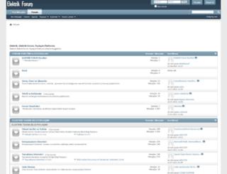 elektrikforum.com screenshot