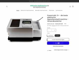 elektrische-stopfmaschine.de screenshot