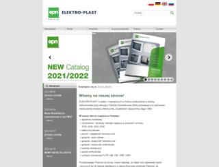 elektro-plast.com.pl screenshot