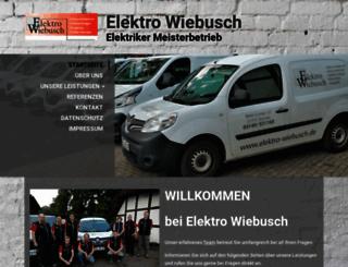 elektro-wiebusch.de screenshot