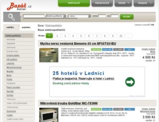 elektro.bazac.cz screenshot