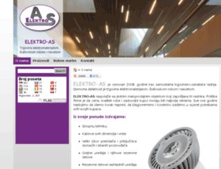 elektroas.co.rs screenshot