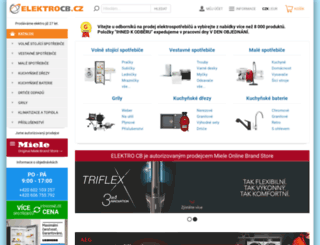 elektrocb.cz screenshot