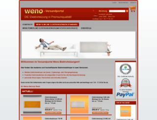 elektroheizung-discount24.de screenshot