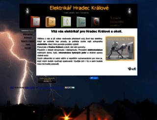 elektroinstalace-hk.hys.cz screenshot
