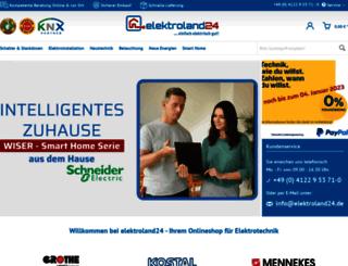 elektroland24.de screenshot
