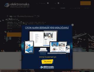elektromaks.com.tr screenshot