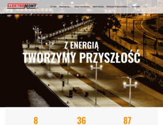 elektromont.pl screenshot