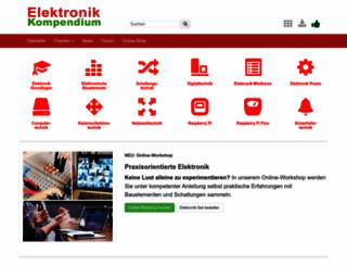 elektronik-kompendium.de screenshot