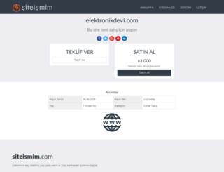 elektronikdevi.com screenshot