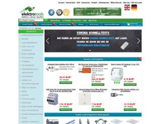 elektrotools.de screenshot