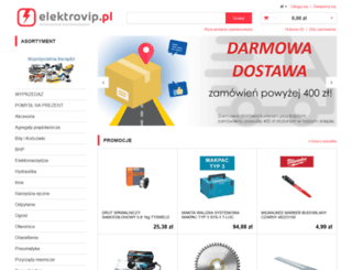 elektrovip.pl screenshot